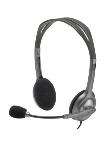 Casque-micro Logitech Stereo Headset H111 - Jack 3