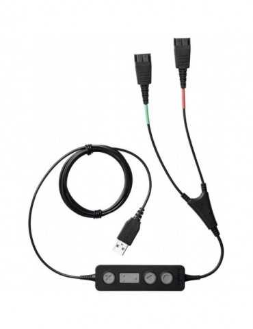 Adaptateur de micro-casque Jabra LINK 265 - USB/QD (265-09)