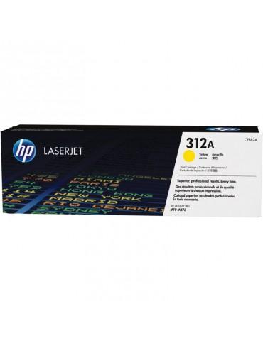 HP 312A Jaune Toner HP LaserJet d'origine (CF382A)