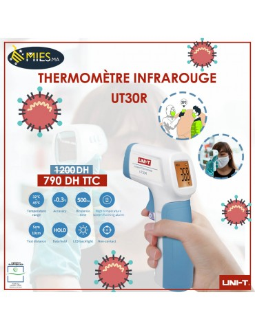 Thermomètre Infrarouge UT30R Sans Contact UNI-T (UT30R)