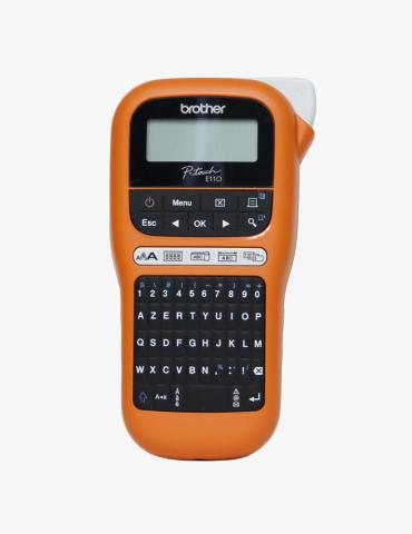 Étiqueteuse Brother Maroc portable  professionnelle (PT-E110VP) pour les électriciens