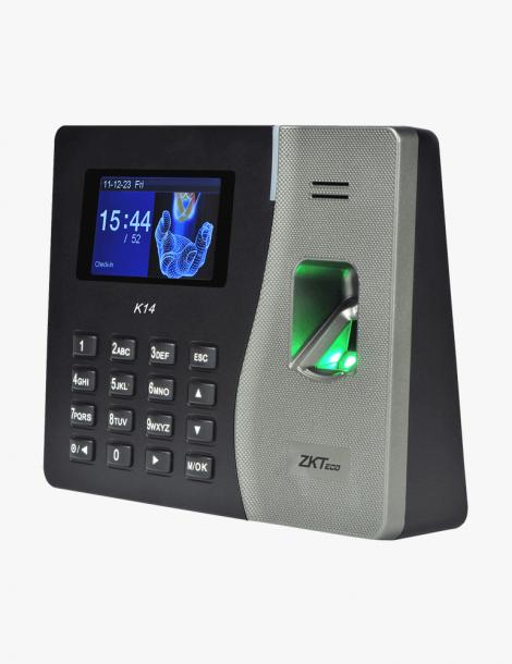 Pointeuse Biométrique ZKTeco K14 Maroc