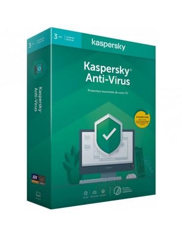 Kaspersky Anti-virus 2020 - 3 Postes /1 an (KL11718BCFS-20FFPMAG)