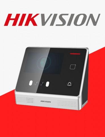 Pointeuse Hikvision Faciale Biométrique & contrôle d'accès (DS-K1T605MF)
