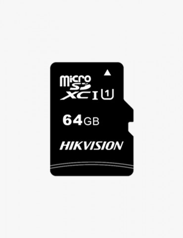 Carte Mémoire SD Hikvision 64GB HS-TF-C1(STD)/64G/Adapter
