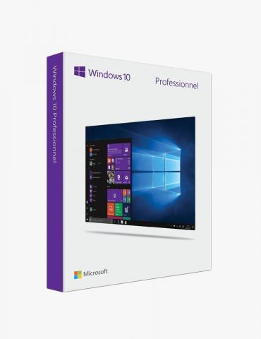 Microsoft Windows 10 Pro Maroc 64Bit Francais 1pk OEM DVD (FQC-08920)