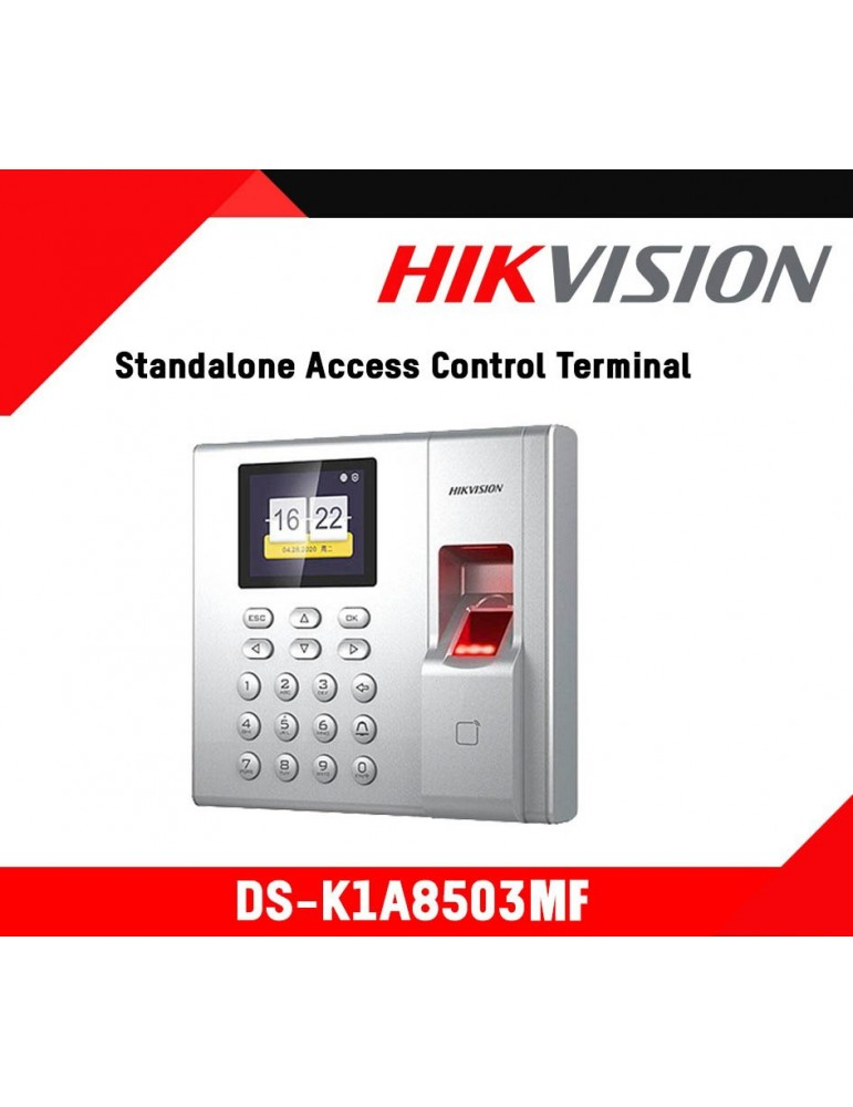 Pointeuse Biométrique HikVision & Badge (DS-K1A8503MF)