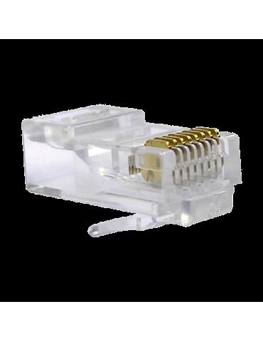 Connecteur RJ45 CAT6 pour câble réseau informatique (CON-RJ45)
