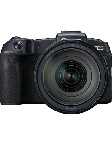 Caméra Reflex Canon EOS RP + objectif RF 24-105mm F4L IS USM + bague d'adaptation monture EF-EOS R (3380C043AA)