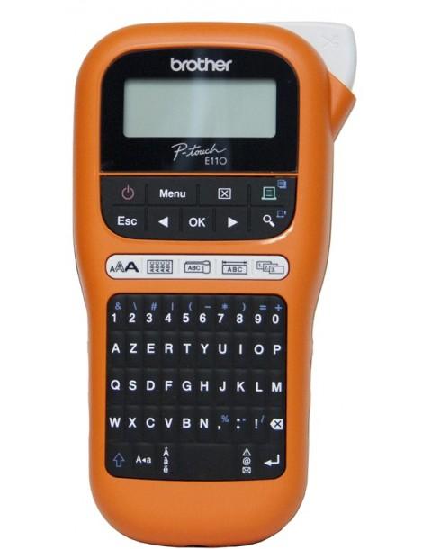 Étiqueteuse Brother professionnelle portable (PT-E110VP)