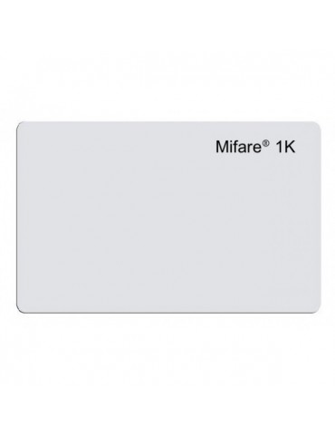 Carte RFID MIFARE 13.56MHZ Mémoire 1K (MIFARE-1K-SN)