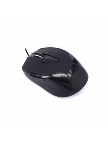 Souris filaire optique USB UPTEC noire (4111111)