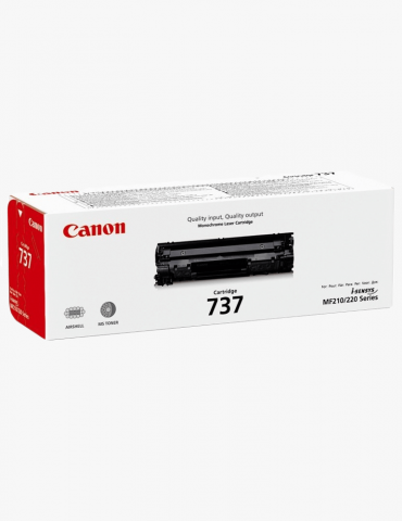 Canon 737 Noir - Toner Canon d'origine (9435B002AA)