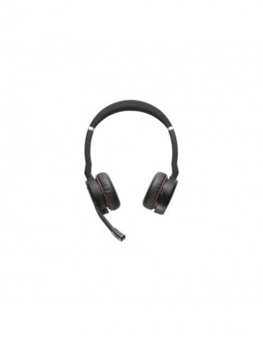 Micro-casque Jabra Evolve 75 Stéréo MS avec Link 370 (7599-832-109)